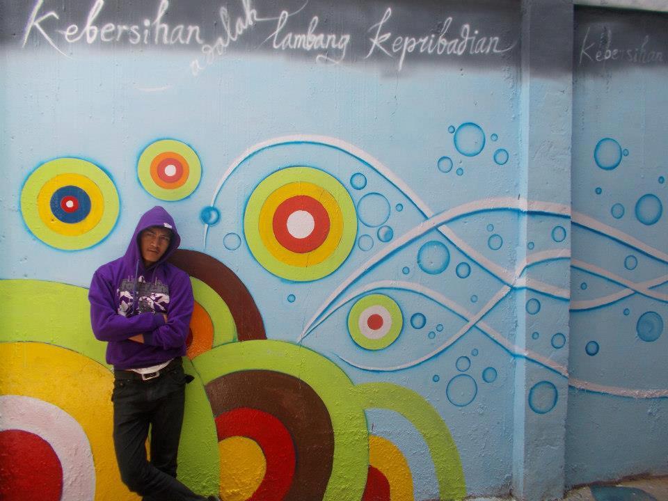 Mural atau lukisan dinding herman zambeck art for Mural sekolah